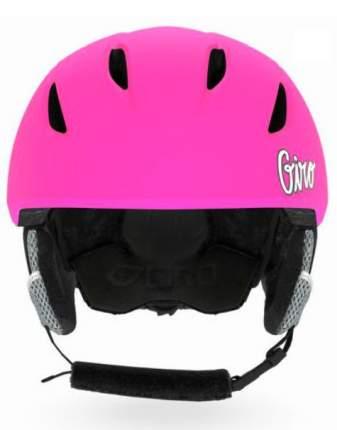 Горнолыжный шлем детский Giro Launch 2019, темно-розовый, S