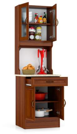 Кухонный буфет Мебельный Двор 600 орех 60х60х200