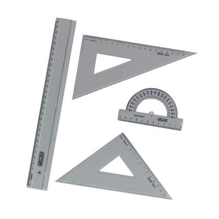 Набор геометрический Herlitz 4 предмета