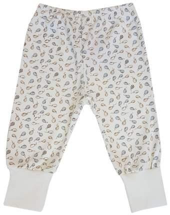 Ползунки - штанишки Папитто с манжетом Воздушные шарики цвет голубой, экрю р.22-68