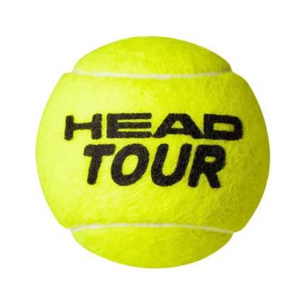 Мяч теннисный Head Tour 3B, желтый