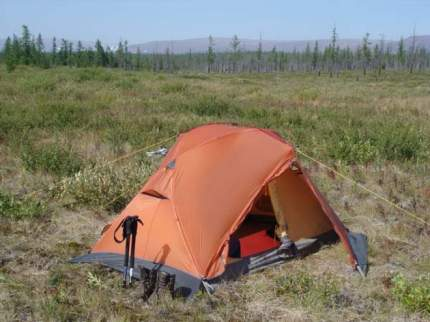 Палатка  SHARK FIN FLAP 2 3510-9B05 ОРАНЖЕВЫЙ