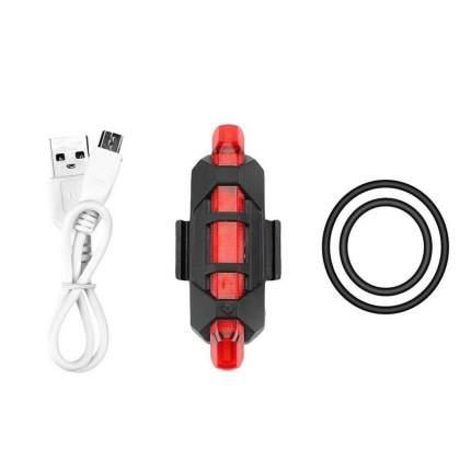 Задний фонарь для велосипеда Verona Flasher, красный