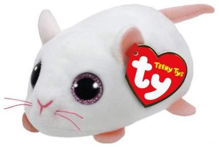 Мягкая игрушка ABtoys Мышка белая, 10 см