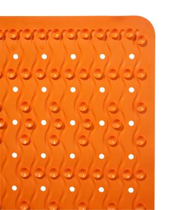 Коврик противоскользящий Playa оранжевый 38*80