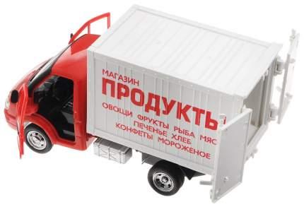 Машинка пластиковая КИТ ИГР Фургон продукты, инерционная