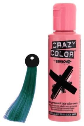 Краска для волос Crazy Color 45 Peacock Blue Морская волна 100 мл
