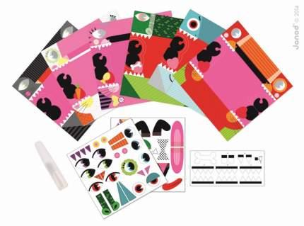 Набор для творчества Janod животные оригами: 6 карточек