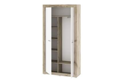 Платяной шкаф Hoff Мартин 80327576 106,1х210х37, дуб серый крафт