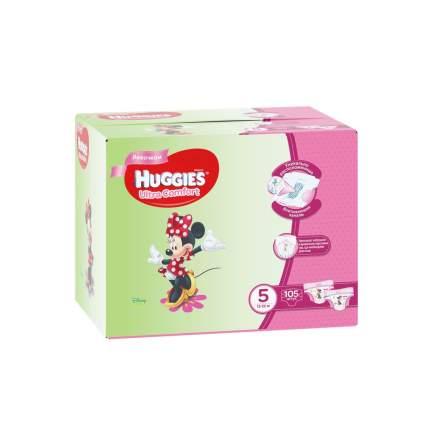 Подгузники Huggies Ultra Comfort для девочек 5 (12-22 кг), Disney Box, 105 шт.