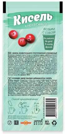 Кисель моментальный порционный Русский Продукт клюквенный  25 г