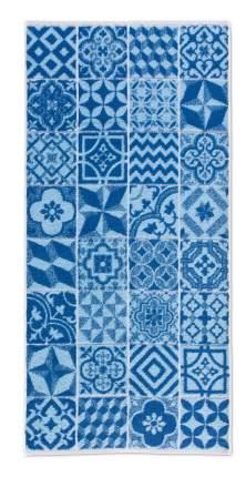 Банное полотенце, полотенце универсальное Move BUENOS AIRES белый, синий