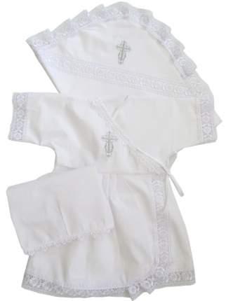 Крестильный набор Папитто для девочки р.68-74 1309