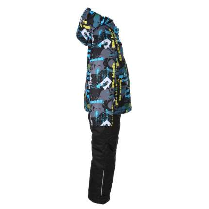 Комплект верхней одежды Jicco By Oldos, цв. серый р. 92