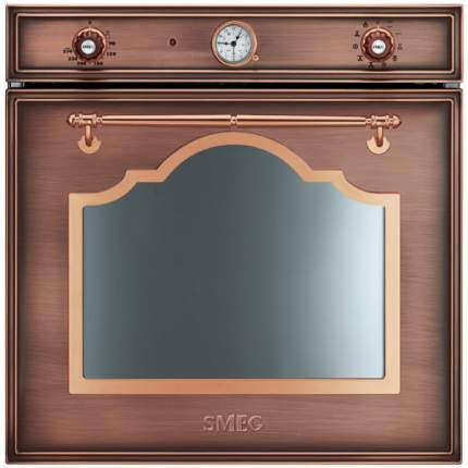 Встраиваемый электрический духовой шкаф Smeg SF750RA Brown