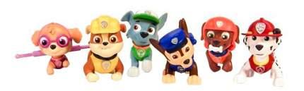 Paw patrol 16620 щенячий патруль набор из 6 фигурок