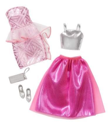 Набор модной одежды Barbie CFY06 DNV36 Fancy - Pink & Silver