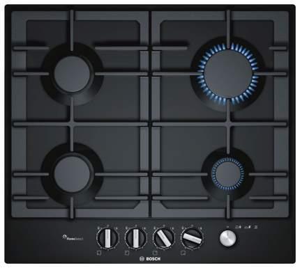 Встраиваемая варочная панель газовая Bosch PCP6A6M90 Black