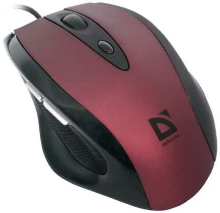 Проводная мышка Defender Opera 880 Red/Black (52832)