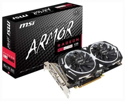 Видеокарта MSI AMD Radeon RX 470 (RX 470 ARMOR 8G OC)