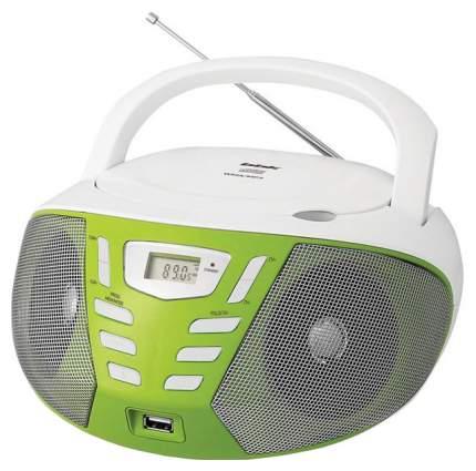 Магнитола BBK BX193U Белый, зеленый