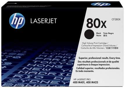 Картридж для лазерного принтера HP 80X (CF280X) черный, оригинал