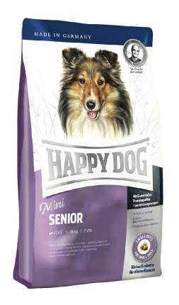 Сухой корм для собак Happy Dog Supreme Mini Senior, птица, лосось, ягненок, 4кг