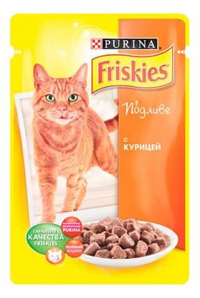 Влажный корм для кошек Friskies, с курицей в подливе, 100г
