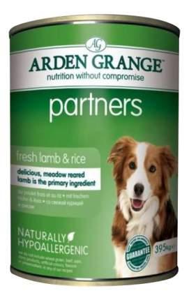Консервы для собак ARDEN GRANGE, ягненок, рис, 6шт по 395г