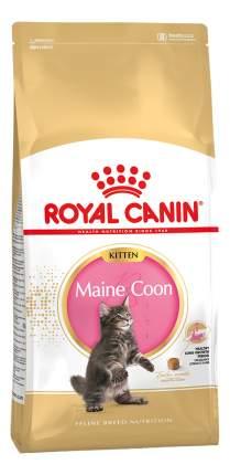 Сухой корм для котят ROYAL CANIN Maine Coon Kitten, домашняя птица, 2кг