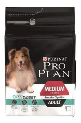 Сухой корм для собак PRO PLAN OptiDigest Medium Adult, для средних пород, ягненок, 7кг