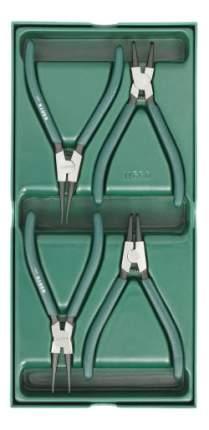 Набор шарнирно-губцевого инструмента SATA 09911