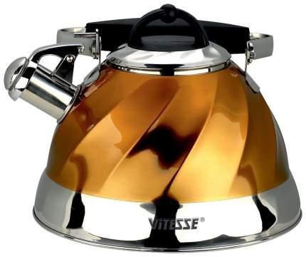 Чайник для плиты Vitesse VS-1119 Gold 3 л