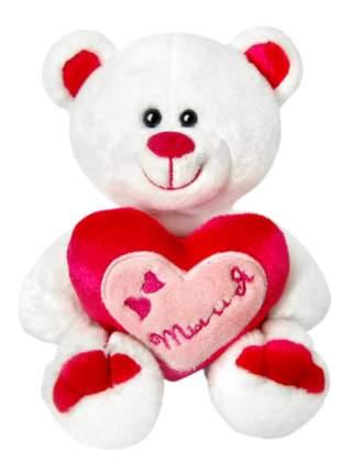 Мягкая игрушка LAVA Медведь Амурчик с сердцем музыкальный 18 см