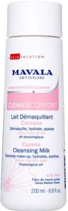 Очищающее молочко для деликатного ухода MAVALA Clean & Comfort, 200 мл