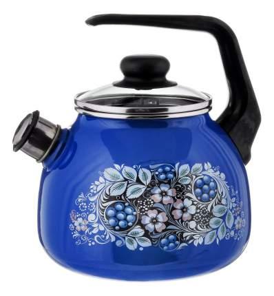 Чайник для плиты СТАЛЬЭМАЛЬ 3 л