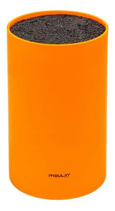Подставка для ножей MOULINVilla STN-1O, оранжевая