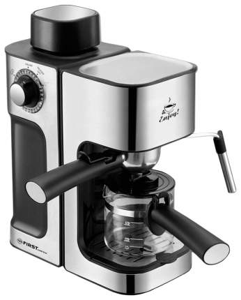 Рожковая кофеварка  First FA-5475-2 Silver