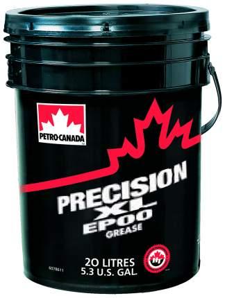 Специальная смазка для автомобиля Petro-Canada Пластичная смазка Precision XL EP00 17 кг
