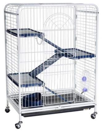Клетка для шиншилл KREDO 93х44х64см выдвижной лоток для отходов, на колесах