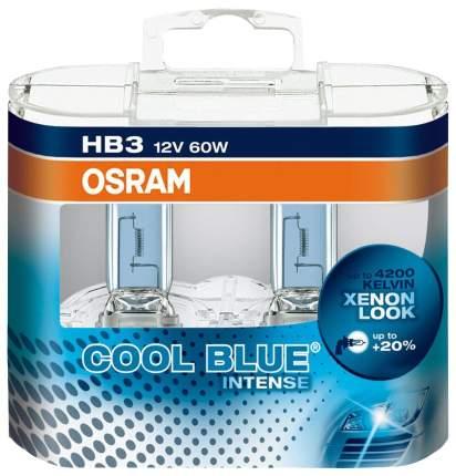Лампа галогенная OSRAM COOL BLUE INTENSE 60W hb3 9005CBI-HCB