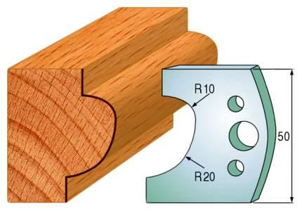 Комплект из 2-х ножей 50x4 SP CMT 690.504