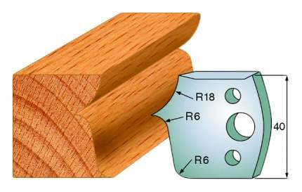 Комплект из 2-х ножей 40x4 SP CMT 690.046