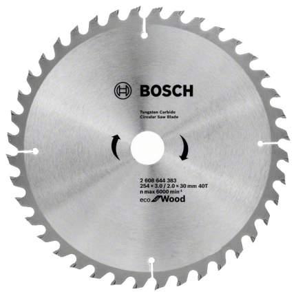 Диск по дереву Bosch ECO WO 254x30-40T 2608644383