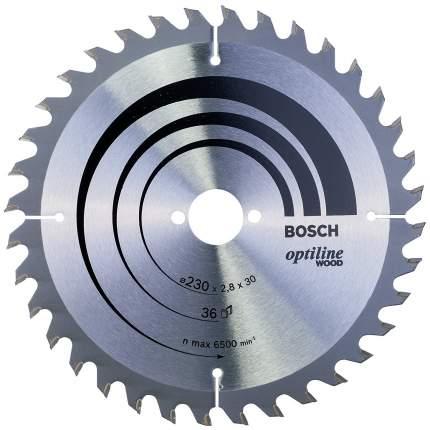 Пильный диск по дереву Bosch STD WO 230x30-36T 2608640628