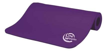 Коврик для фитнеса Lite Weights 5420LW фиолетовый 10 мм