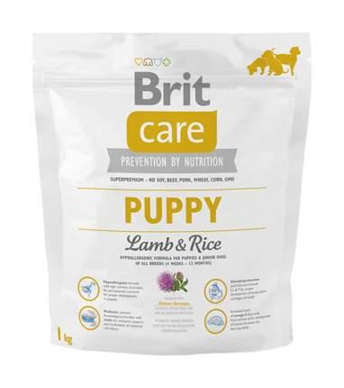 Сухой корм для щенков Brit Care Puppy All Breed, все породы, ягненок и рис, 1кг