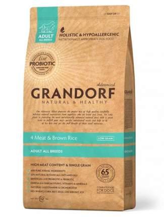 Сухой корм для собак Grandorf Living Probiotics Adult, мясо, 3кг