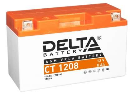 Аккумулятор автомобильный  Delta CT 1208 8 Ач