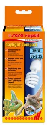 Ультрафиолетовая лампа для террариума Sera Reptil Daylight Compact 2%, 26 Вт